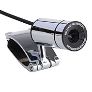 8-Megapixel-Mini-Clip-On-USB 2.0 Webcam (silber)