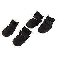 Dog shoes/Dog boots-XS/S/M/L/XL-Spring/Fall-Black-Breathable/Mesh/Fastener-Nylon