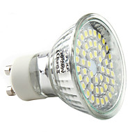3W GU10 LED Spotlight MR16 48 SMD 3528 180 lm Natural White AC 220-240 V