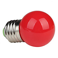 E26/E27 1W 1 High Power LED 90 LM Red G45 LED Globe Bulbs AC 220-240 V