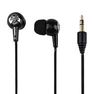 Kanen graves estéreo poderoso in-ear fones de ouvido (preto)