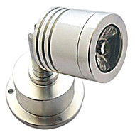 3W 195LM 3000-3500K Warm White Light LED Wall Spotlight Mirror Wine Cabinet Lamp (AC85-265V)