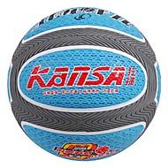 7 Ballon de basketball en caoutchouc antiusure # (bleue)