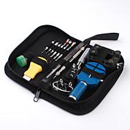13-delige horloge reparatie tool kit geval opener voorjaar bar