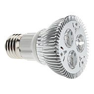 Focos LED Regulable MR16 E26/E27 3W 3 LED de Alta Potencia 310 LM Blanco Natural AC 85-265 V