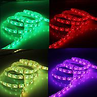 Vanntett 5 m 300x5050 SMD RGB LED stripelys med 44-knappers fjernkontroll og AC adaptersett (100-240V)
