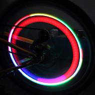 rower koła kolorowe światła