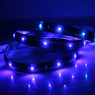 Waterproof 90cm 36-LED Blue LED Strip Light (12V)