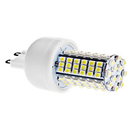 daiwl G9 5W 102x3528 SMD 400-420lm 6000-6500k натуральный белый свет привел кукуруза лампа (AC 110-130 / 220-240 В переменного тока)