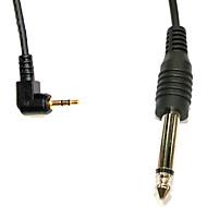 2.5mm-6.35mm Salama PC Sync Cable for PE-16NE/Yongnuo RF-602/JY-2004 vastaanotin