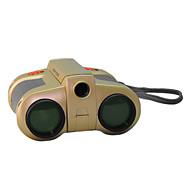 4X30 mm Binocolo Con LED Visione notturna Giocattolo per bambini Messa a fuoco centrale