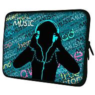 "Music Pattern 7 ""/ 10"" / 13 ""Laptop Sleeve Case for MacBook Air Pro / Ipad Mini / Galaxy Tab2/Sony/Google Nexus 18.207"