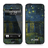 "Da Kode ™ Skin for iPhone 4/4S: ""Starry Night"" av Vincent van Gogh (Mesterverk Series)"