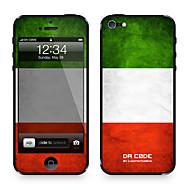 "Code Da ™ Skin pour iPhone 4/4S: ""Italie"" (Flags Series)"