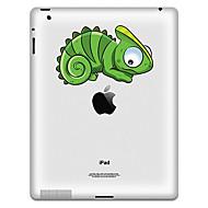Modèle de dinosaure autocollant de protection pour iPad 1, iPad 2, iPad 3 et le nouvel iPad