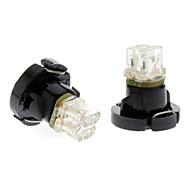 T4.2 Blue Light LED Bulb for Car Instrument Lamp (DC 12V, 1-Pair)