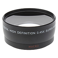 0.45x objectif ultra grand angle 55mm extra Universal