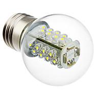 2W E26/E27 LED-bollampen G45 32 SMD 5050 175 lm Natuurlijk wit AC 220-240 V