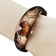 Dames Modieus horloge Polshorloge Armbandhorloge Kwarts Band Bangle armband Brons