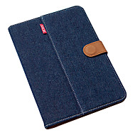 Ultra thin Royal Blue Pure Cotton Denim w/ Stand for iPad mini 3, iPad mini 2, iPad mini