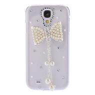 Bling suunnittelu bowknot tyyli tekojalokivi Hard Case for Samsung Galaxy S4 I9500