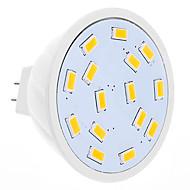DAIWL MR16 4W 15xSMD5630 280-320LM 2500-3500K Warm White Light LED Spot Bulb (12V)