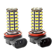 H8 5W 300LM 96x3528SMD White Light LED Car Foglight (DC 12V, 1-Pair)