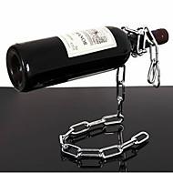 zwevende ketting stijl wijnrek fles houder