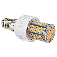 E14 5W 60x2385SMD 450-500lm 2700-3500K Varmvit LED Corn Bulb (220-240V)
