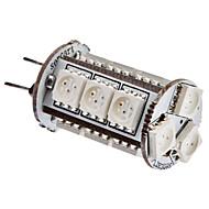 G4 3W 15x5050SMD 150-180LM Red Light LED Corn lamppu (12V)