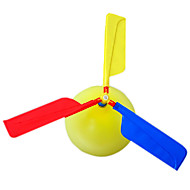 Helikopter Air Balloon Assembly Toy (tilfeldig farge)