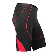 MC05038R Santic Summer Mænds Coolmax åndbart materiale Cycling 1/2 Pants - Rød