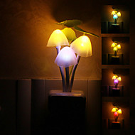 Mushroom Shaped Fargerike LED Night Light