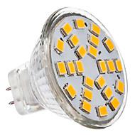 3W GU4(MR11) Żarówki punktowe LED MR11 24 SMD 2835 230 lm Ciepła biel DC 12 / AC 12 V