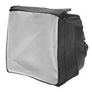 newyi de flash de pliage universel 430EX 320EX SB800 SB600 la boîte à lumière - noir + blanc (10 x 10cm)