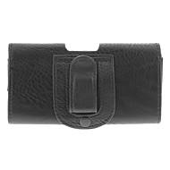 Protezione PU Custodia in pelle w / clip da cintura per Samsung Galaxy S3/S4 i9300/i9500 - Nero