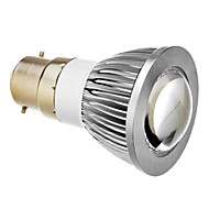 E14/B22 5 W COB 350 LM Varm hvid/Kold hvid Spotlys AC 85-265 V