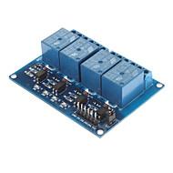 DC 5V 4-Channel Relais-Modul mit Optokoppler für Arduino PIC-ARM AVR DSP