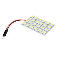 T10 BA9S Bilar Vit SMD 5050 Läslampa Registreringsskyltlampa