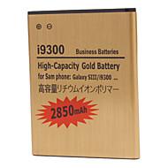 2850mAh batteria del telefono delle cellule per la galassia s3 i9300