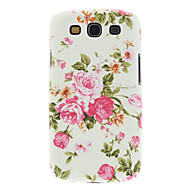 High Quality Country Style Flower Painting Hard Case Cover for Samsung Galaxy S3 I9300