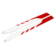325MM Glass Fiber Main Blade Remote Control Helicopter Onderdelen voor PRO White & Red