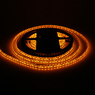 Vandtæt 5M 48W 120x3528SMD 1800-2400LM Yellow Light LED Strip Light (DC12V)