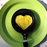 Uusi Heart Shaped Egg Fry Paista Cook Pan Liesi Non-Stick Pot