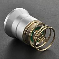 Cree XM-L T6 2-Mode White Light Bulb (700LM, Silber)