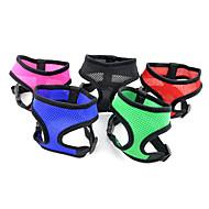 ajustable arnés cómodo meshy para perros (colores surtidos, tamaños)