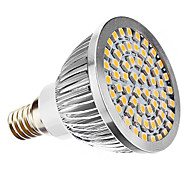 E14 3 W 60 SMD 3528 240 LM Warm wit MR16 Spotjes AC 110-130 / AC 220-240 V