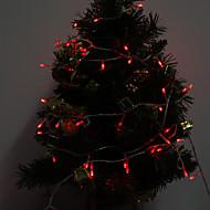 Outdoor 10M 100-LED rood licht LED Light Strip Decoratie Kerst Lamp (220-240V)
