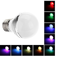 E26/E27 3 W 180 LM RGB G Globe Bulbs AC 85-265 V