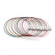 Clasic rotund Multicolor oțel inoxidabil Cablu & Wire (10 buc / Lot) (Multicolor)